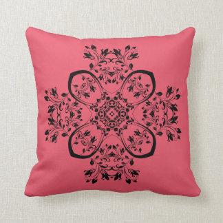 Red cushion 40.6 cm X 40.6 cm