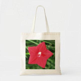 Red Cypress Vine Budget Tote Bag
