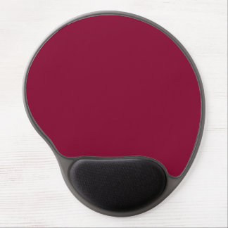 Red Dahlia Brick Maroon Burgundy 2015 Color Trend Gel Mouse Mat