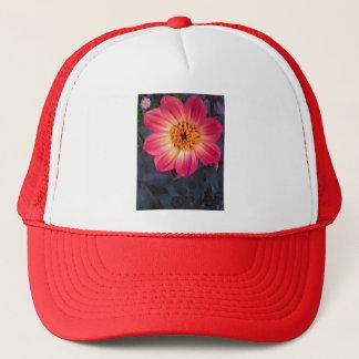 Red Dahlia Trucker Hat
