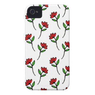 Red Daisies Case-Mate iPhone 4 Case