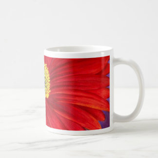Red Daisy Gerber Flower Painting Art - Multi Mugs