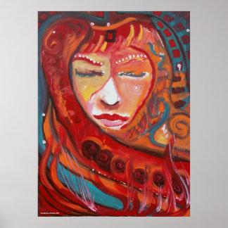 """Red Dakini"" Art Print"