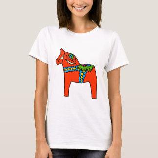 Red Dala Horse T-Shirt