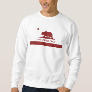 Red Damask California Republic Flag t shirt