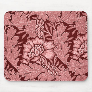 Red Damask Gifts Mouse Pad