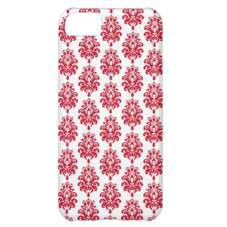 Red Damask Iphone Cases for iphone 5 iPhone 5C Case