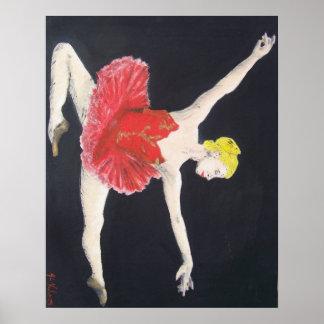red dancer poster