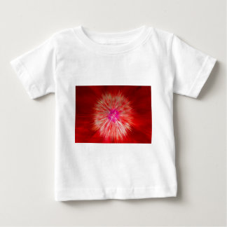 Red Dandelion Extrusion Baby T-Shirt