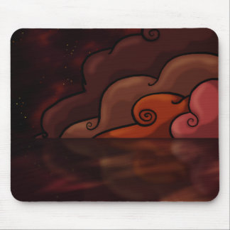 Red Danger Mouse Pad