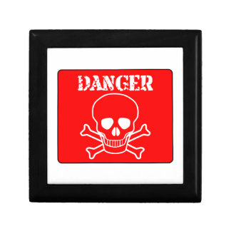 Red Danger Sign Gift Box