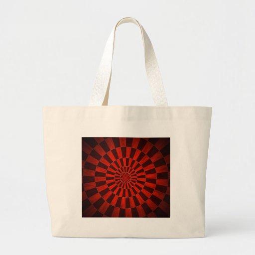 Red Dart Board Canvas Bag