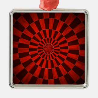Red Dart Board Ornament