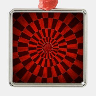 Red Dart Board Ornament