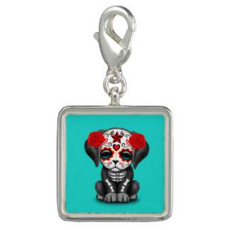 Red Day of the Dead Baby Puppy Dog