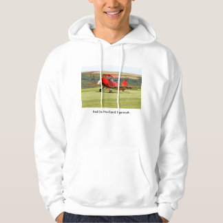 Red De Havilland Tigermoth Bi-Plane T-shirt