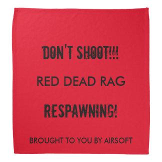 Red Dead Rag Bandana