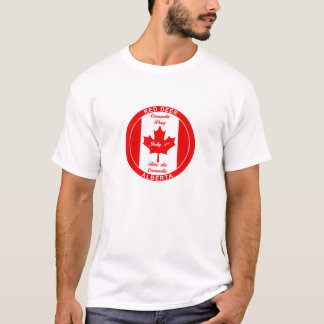 RED DEER ALBERTA CANADA DAY T-SHIRT