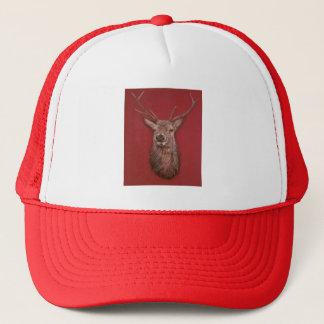 Red Deer buck Stag Hat