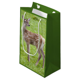 Red Deer Fawn Gift Bag