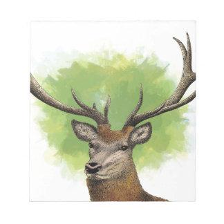 Red Deer Notepad