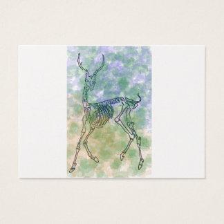 red deer skeleton brown/green