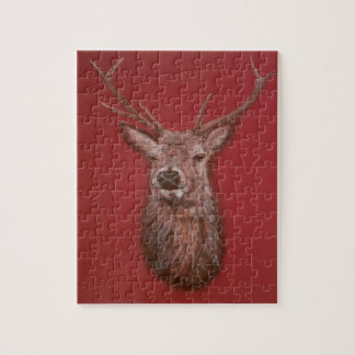 Red Deer Stag Jigsaw Puzzle