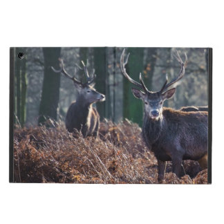 Red Deer Stag Portrait In Autumn Fall Winter iPad Air Cover