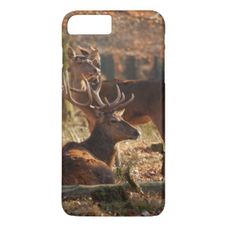 Red Deers In The Autumnal Wood iPhone 8 Plus/7 Plus Case