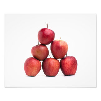 Red Delicious Apples Pyramid Photo Print