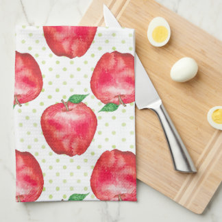 Red Delicious Kitchen Towel