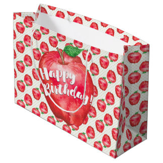 Red Delicious Large Gift Bag