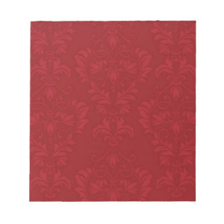Red Demask Notepad