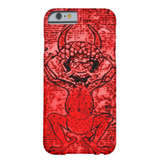 Red Demon art Barely There iPhone 6 Case