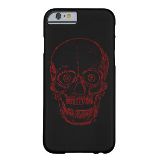 Red Demon Skull Barely There iPhone 6 Case