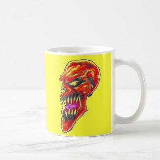 Red Demon Skull Mug