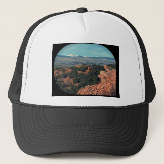 Red Desert Mountain View Trucker Hat