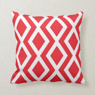 Red Diamond Pillows