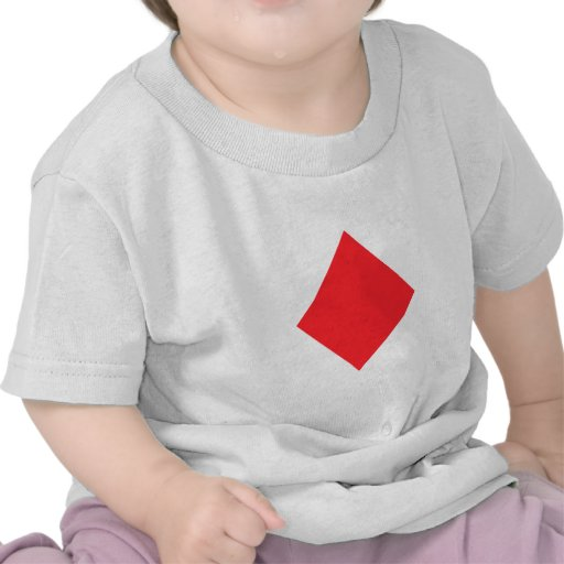 Red Diamond - Suit of Gambling Cards Tshirts
