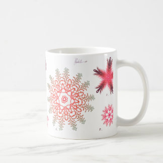 Red Diatom Coffee Mug