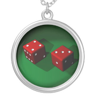 Red Dice Lucky Necklace