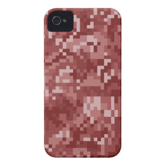 Red Digital Camouflage iPhone 4 Cases