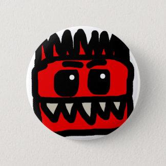 Red Dinosaur Merch 6 Cm Round Badge