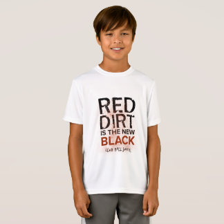 Red Dirt is the New Black Boys Sport Shirt