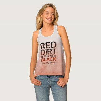 Red Dirt Racerback Womens Baseball Tank