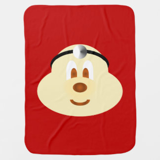 Red Doctor 鲍 鲍 Baby Blanket