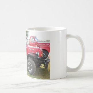 Red Dodge Power Wagon Coffee Mug