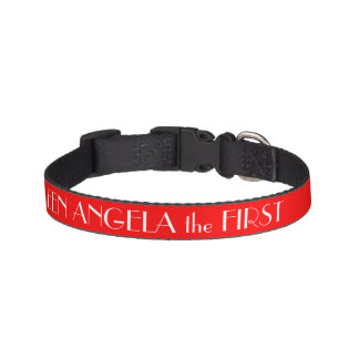Red Dog Collar Personalized Dog Collars