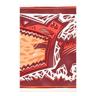 Red Dog Stationery Paper