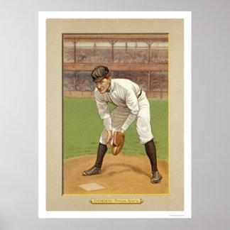 Red Dooin Phillies Baseball 1911 Print